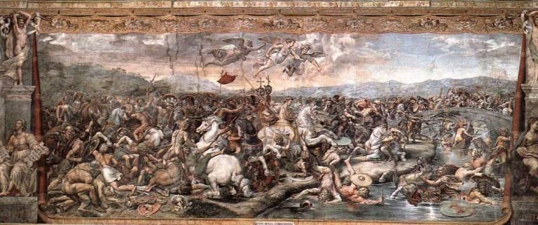 Resultado de imagen de Batalla del Puente Milvio