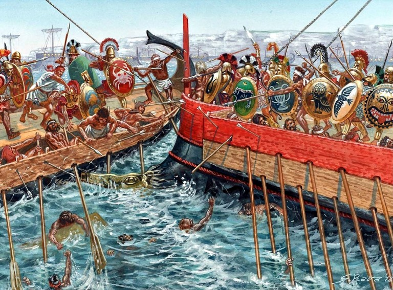 Resultado de imagen de batalla de alalia