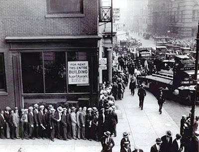 Resultado de imagen de crack del 1929 colas