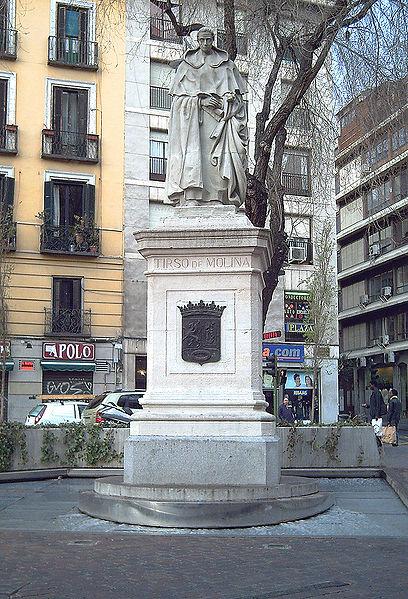 408px-Monumento_a_Tirso_de_Molina_(Madrid)_01