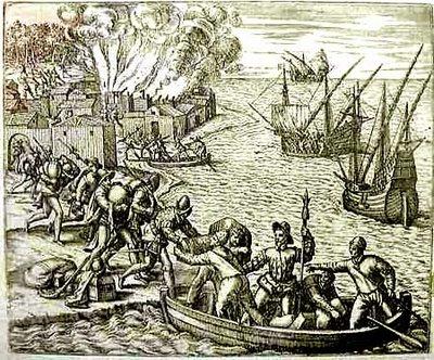 Piratas saqueo