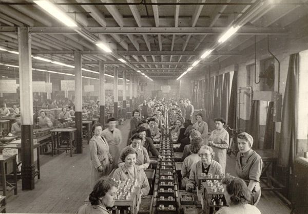 women on factory production line_1